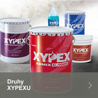 Druhy XYPEXu
