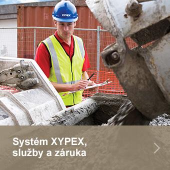 Systém XYPEX, služby a záruka
